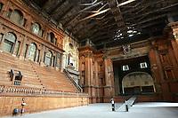 Interno del Teatro Farnese di Parma.<br /> Interior of the Farnese theater in Parma.<br /> UPDATE IMAGES PRESS/Riccardo De Luca