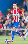 Saul Niguez Esclapez of Atletico de Madrid in action during their La Liga match between Atletico de Madrid vs Real Sociedad at the Vicente Calderon Stadium on 04 April 2017 in Madrid, Spain. Photo by Diego Gonzalez Souto / Power Sport Images