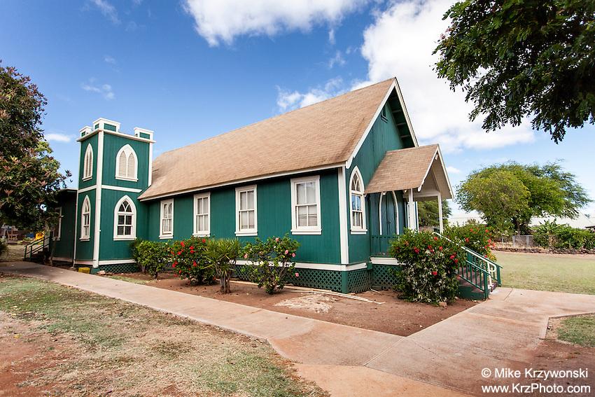 Kalaiakamanu Hou Congregational Church in Kaunakakai, Moloka'i
