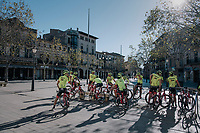 Team Trek-Segafredo just rolled into town during the Mallorca training camp <br /> <br /> January 2018