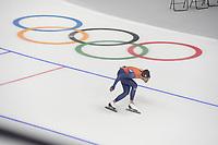 OLYMPIC GAMES: PYEONGCHANG: 17-02-2018, Gangneung Oval, Long Track, Training session, Kjeld Nuis (NED), ©photo Martin de Jong