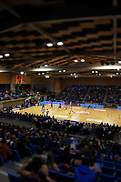 A general view of the National Basketball League Final Four semifinal match between Wellington Saints and Auckland Huskies at Te Rauparaha Arena in Porirua, New Zealand on Thursday, 22 July 2021. Photo: Dave Lintott / lintottphoto.co.nz