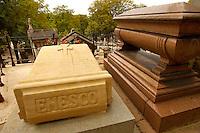 Paris France - Pere La Chaise - Grave of Paris Georges Enesco  (Enescu)