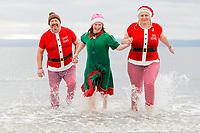 2020 12 25 Christmas Swim at Porthcawl, Wales, UK