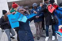 2014/12/03 Protest gegen Verschärfung des Aufenthaltsrechts fuer Flüchtlinge