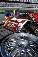 Tire Change, #60 Michael Shank Racing Ford/Riley of Ozz Negri, Burt Frisselle, John Pew & Mark Wilkins