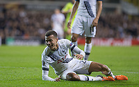 Dele Alli of Tottenham Hotspur appeals for a penalty during the UEFA Europa League Group J match between Tottenham Hotspur and R.S.C. Anderlecht at White Hart Lane, London, England on 5 November 2015. Photo by Andy Rowland.