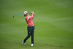 Jin Young Ko of South Korea plays a second shot at the 15th hole during Round 3 of the World Ladies Championship 2016 on 12 March 2016 at Mission Hills Olazabal Golf Course in Dongguan, China. Photo by Victor Fraile / Power Sport Images