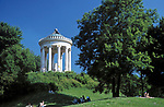 DEU, Deutschland, Bayern, Oberbayern, Muenchen: Monopteros im Englischen Garten | DEU, Germany, Bavaria, Upper Bavaria, Munich: Monopteros at the English Garden