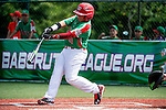 ABERDEEN, MD - AUGUST 02: Victor Sanchez #13 of Mexico at bat against Australia in a game between Australia and Mexico during the Cal Ripken World Series at The Ripken Experience Powered by Under Armour on August 2, 2016 in Aberdeen, Maryland. (Photo by Ripken Baseball/Eclipse Sportswire/Getty Images)