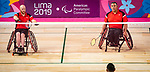 Bernard Lapointe and Richard Peter , Lima 2019 - Para Badminton // Parabadminton.<br />