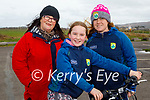 Enjoying a stroll in Blennerville on Thursday, l to r: Bernie, Kelly and Rachel Hayes.