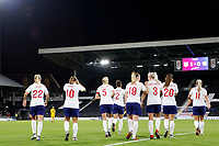 GOAL - Fran Kirby of England Women scores the first goal during the Women's international friendly match between England Women and Australia at Craven Cottage, London, England on 9 October 2018. Photo by Carlton Myrie / PRiME Media Images.