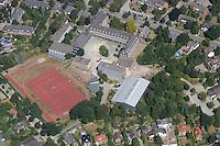 4415 / Gymnasuim: EUROPA, DEUTSCHLAND, Schleswig- Holstein, (EUROPE, GERMANY), 10.08.2003:Schule, Sachsenwald Schule, Gymnasium, Seniorentreff Kuepergang