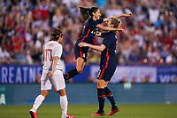 11th Mach 2020, Frisco, Texas, USA;  Players of USA celebrate Christen Presss goal during the 2020 SheBelieves Cup Womens International Friendly,  football match between USA Women versus Japan Women at Toyota Stadium in Frisco, Texas, USA.