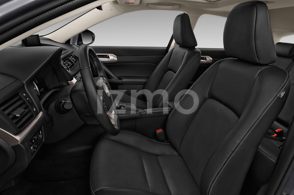 Front seat view of a 2018 Lexus CT Executive Line 5 Door Hatchback front seat car photos