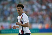 Lee Nguyen gets his first national team cap. The USA defeated China, 4-1, in an international friendly at Spartan Stadium, San Jose, CA on June 2, 2007.