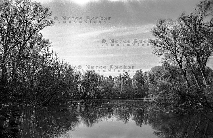 """Camairago (Lodi), Riserva naturale Adda Morta --- Camairago (Lodi), nature reserve Adda Morta (ancient, """"dead"""" stretch of the river Adda)"""