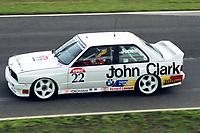 British Touring Car Championship at Knockhill. #22 Karl Jones (GBR). Techspeed Racing. BMW M3.