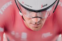 Markel Irizar (ESP/Trek-Segafredo) warming up<br /> <br /> Men's Team Time Trial<br /> <br /> UCI 2017 Road World Championships - Bergen/Norway