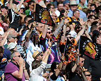 Exeter Chiefs fans during the Premiership Rugby Final at Twickenham Stadium on Saturday 27th May 2017 (Photo by Rob Munro)