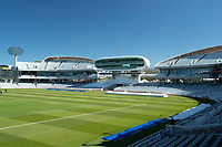 A general view of Lords towards the Nursery End during Middlesex CCC vs Gloucestershire CCC, LV Insurance County Championship Group 2 Cricket at Lord's Cricket Ground on 7th May 2021