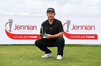 Overall winner Kieran Muir during the Jennian Homes Charles Tour Taranaki Open, New Plymouth Golf Course, Sunday 18 October 2020. Photo: Simon Watts/www.bwmedia.co.nz