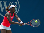 Sloane Stephens loses  at the Western and Southern Financial Group Masters Series in Cincinnati on August 16, 2012