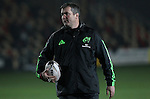 Head coach Anthony Foley of Munster Rugby before kick off.<br /> <br /> Guinness Pro 12<br /> Newport Gwent Dragons v Munster Rugby<br /> Rodney Parade<br /> 21.11.14<br /> ©Steve Pope-SPORTINGWALES