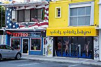 Ft. Lauderdale, Florida. Tattoo Studio and Swimwear Shop.