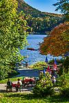 Oesterreich, Steyrisches Salzkammergut, Altaussee: Ortsteil Fischerndorf - Urlaubsort am Altausseer See | Austria, Styrian Salzkammergut, Altaussee: district Fischerndorf - holiday resort at Lake  Altaussee