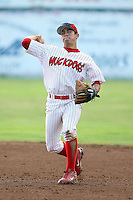 July 19th, 2007:  Jose Garcia of the Batavia Muckdogs, Short-Season Class-A affiliate of the St. Louis Cardinals at Dwyer Stadium in Batavia, NY.  Photo by:  Mike Janes/Four Seam Images