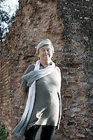 Luisa Muraro.Roma 12/06/2012 Basilica di Massenzio - XI Festival Internazionale delle Letterature di Roma .Foto Serena Cremaschi Insidefoto