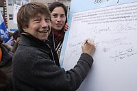 Marche pour le Jour de la Terre, 22 Avril 2012<br /> <br /> PHOTO :  Agence Québec Presse