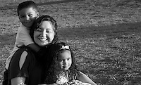 Ah my friend Liz - who knew that such a suspect character would have such adorable kids?! But the 4-year-old Jaydis and 2-year-old Sidnee were terrific and obnoxiously photogenic, which I found out right away when we took these Sunday, Nov. 13 at Harker Heights Carl Levin Park. Love ya Liz!