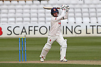 Adam Wheater hits 4 runs for Essex during Essex CCC vs Worcestershire CCC, LV Insurance County Championship Group 1 Cricket at The Cloudfm County Ground on 9th April 2021