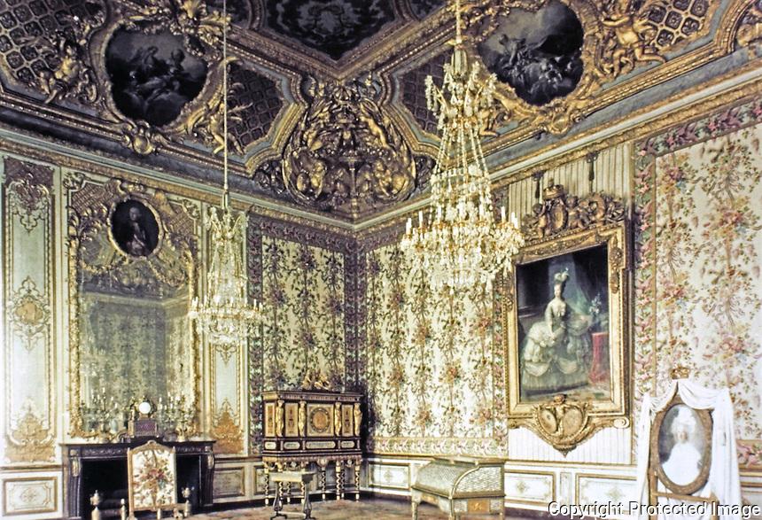 Palace of Versailles--Queen's Room.