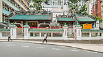 "Man Mo Temple in Sheung Wan.  (See detailed coverage in ""Individual Monuments"".)"