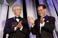 Montreal (Qc) CANADA - April 30, 2007-<br /> <br /> Stephane Dion, Leader, Liberal Party of Canada (L) and Ami Peleg, President CC Awards,<br /> at the 20th Consumer Choice Award Gala (Gala Choix du Consommateur)<br /> <br /> photo (c)  Images Distribution