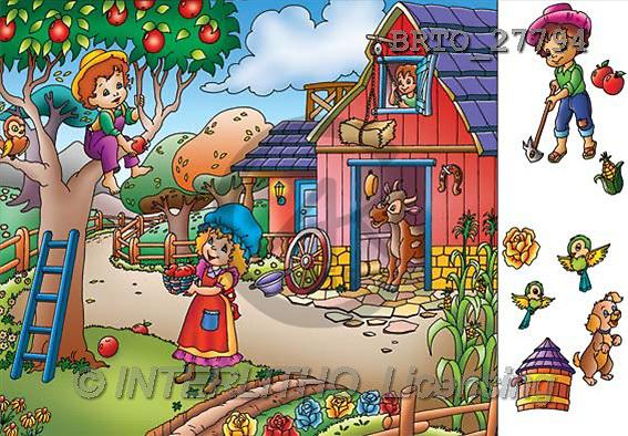 Alfredo, CUTE ANIMALS, puzzle, paintings(BRTO27794,#AC#) illustrations, pinturas, rompe cabeza