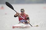 Christine Gauthier, Rio 2016 - Para Canoe // Para canoë.<br /> Christine Gauthier competes in the Women's KL2 Canoe Sprint // Christine Gauthier participe au sprint de canoë KL2 féminin. 14/09/2016.