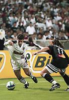 WASHINGTON, DC - SEPTEMBER 27: MLS playoffs during a game between Metro Stars and D.C. United at RFK Stadium on September 27, 1996 in Washington, DC.