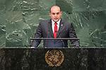 LOS general debate – 27 September<br /> <br /> PM<br /> <br /> His Excellency Mamuka Bakhtadze, Prime Minister, Georgia