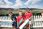 Jude Richmond (L) Luke Zillwood and Damon Zillwood wait for their chance to grab some autographs.ICC Cricket World cup West indies v Ireland, Saxton Oval Nelson,16th  February, Photographer: Evan Barnes/Shuttersport