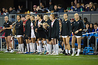 Stanford, CA - December 8, 2019: Team at Avaya Stadium. The Stanford Cardinal won their 3rd National Championship, defeating the UNC Tar Heels 5-4 in PKs after the teams drew at 0-0.