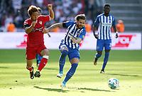 Takuma Asano, Marvin Plattenhardt /   / general viel, Spielszene  /      <br /> / Sport / Football Football / DFL 1. Bundesliga Bundesliga  /  2017/2018 / 19.08.2017 / Hertha BSC Berlin vs. VfB Stuttgart 170819061 /  *** Local Caption *** © pixathlon<br /> Contact: +49-40-22 63 02 60 , info@pixathlon.de<br /> Contact: +49-40-22 63 02 60 , info@pixathlon.de