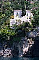 Europe/Italie/Côte Amalfitaine/Campagnie/Positano : Villa sur la côte
