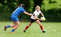 24 August 2019; Kathryn Dane during the Women's Interprovincial Championship match between Ulster and Leinster at Armagh RFC in Armagh. Photo by John Dickson / DICKSONDIGITAL