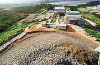 Cia. Vale do Rio Doce, Serra Sossego. Pilha de minério.<br />Canãa dos Carajás-Pará-Brasil<br />Foto: Paulo Santos/ Interfoto<br />Negativo 135 Nº 8501 T2 7 F2a