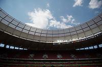 Brasilia, Brazil - August 11, 2016: The USWNT walks through the stadium in preparation for the quarterfinals of the 2016 Olympics at Mane Garrincha Stadium.